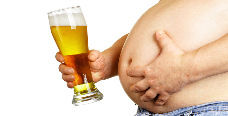 Beer belly